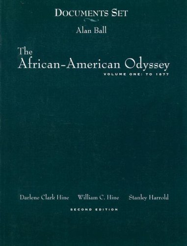 The African-American Odyssey to 1877