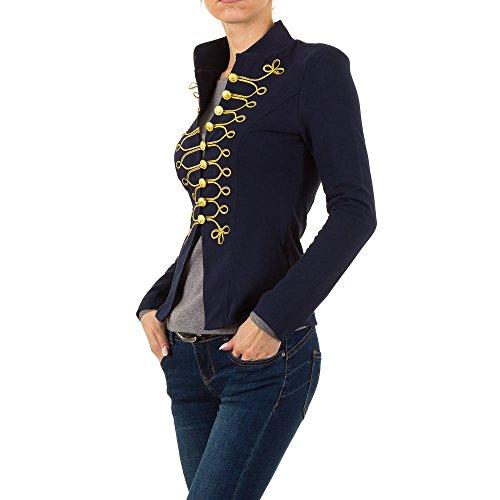Admiral Uniform Jacke Für Damen , Dunkelblau In Gr. M bei Ital-Design