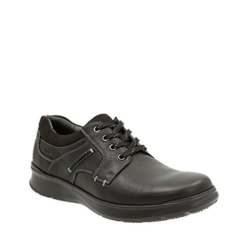 clarks-mens-cotrell-plain-oxford-black-oily-8-m-us