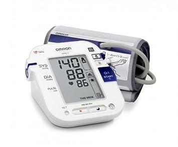 OMRON M10 IT - Tensiómetro de brazo, memoria para dos usuarios, transferencia de datos mediante USB (Bi-LINK), reconocimiento de hipertensión matutina