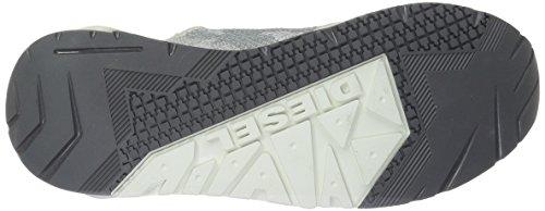 Diesel S-Kby, Scarpe da Ginnastica Basse Uomo Grigio (H6576 H6576)