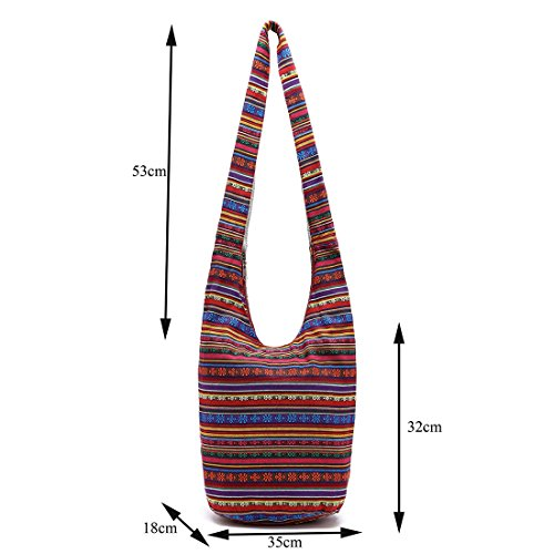 Bag YIBLBOX Bag Handbag Red Handmade Top Sling Shoulder Zip Bags Womens Purse Crossbody Tote nX1RagXrq
