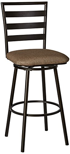 Simmons Casegoods 5303-56 Stool, Cherry/Charcoal