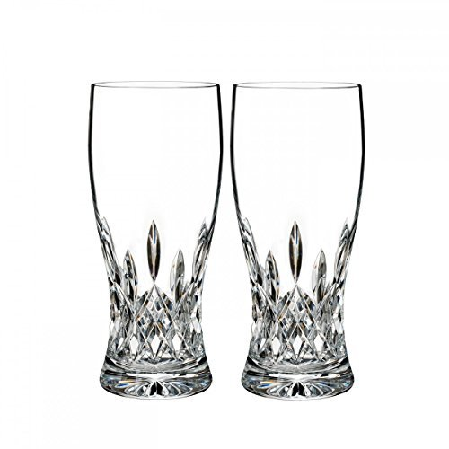 Waterford Crystal Pilsner - Waterford Crystal Lismore Pint Glass, Pair