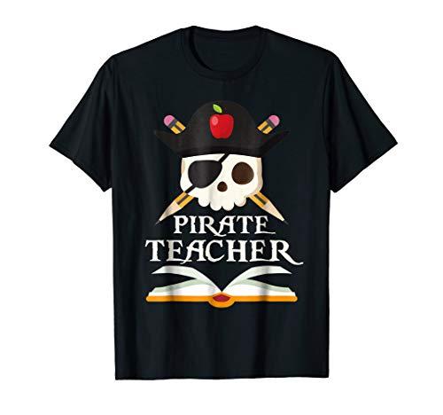 Pirate Teacher For Halloween Costume