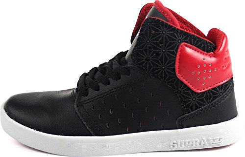 Adulte Sneakers Mixte Black Hautes Atom Supra Red Black UcSfP8