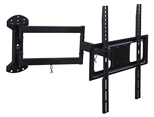 Mount-It! MI-3991XL Wall Mount Bracket with Full Motion Articulating Arm 24-Inch Extension for 26-55 Inches LED, LCD OLED TVs, VESA 400x400 (200 Extension)