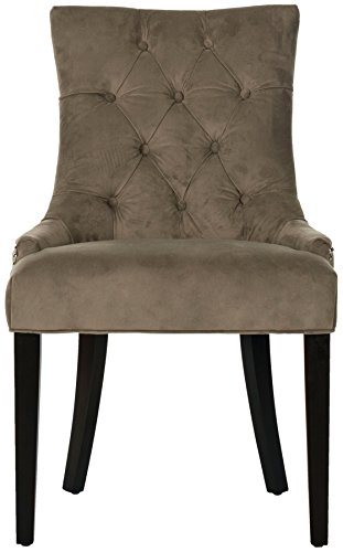 Safavieh Mercer Collection Heather Dining Chairs, Mole Grey, Set of - Mole Grey