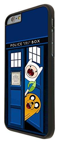 248 - Doctor who Tardis Call Box adventure Funny Design iphone 6 6S 4.7'' Coque Fashion Trend Case Coque Protection Cover plastique et métal - Noir