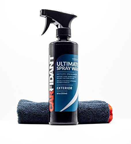 Carfidant Ultimate Spray Wax Sealant - Premium Car Wax Spray Kit -...