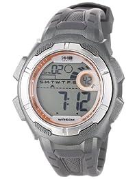 Timex Men's T5K594 1440 Sports Digital Full-Size Gray Resin Strap Watch