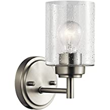 Kichler Lighting 45910NI One Light Wall Sconce from the Winslow Collection