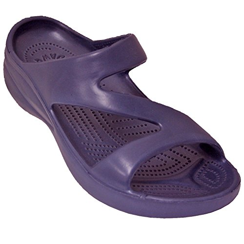 DAWGS Ladies Z Sandal,Purple,8 M US