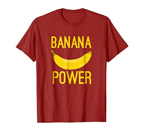Banana Power College Baseball Fan T Shirt