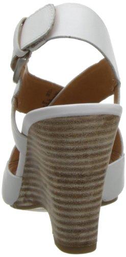 Sandalia De Cuña Tampico Para Mujer Franco Sarto Blanco