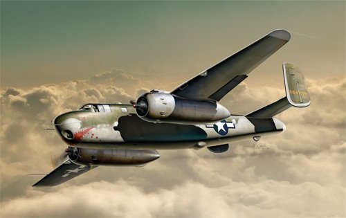 B-25g Mitchell Model Kit  Scala 1:72 Italeri 1309