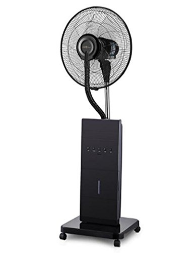 - XY fan Spray cooling, negative ion purification, mosquito repellent moisturizing, energy saving mute, household silent shaking head spray cooling and humidifying floor fan @