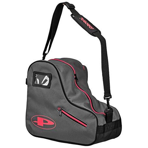 Pacer Skate Shape Bags - Great for Quad Roller Skates or Inlines (Grey) ()