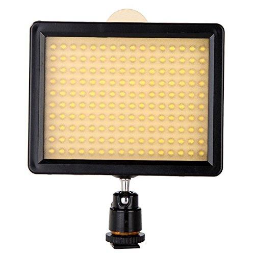 SODIAL(R) 160 LED Video Light Lamp Panel 12W 1280L...