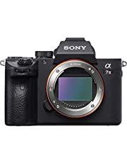"""Sony a7 III Full-Frame Mirrorless Interchangeable-Lens Camera Optical with 3"""" LCD, Black (ILCE7M3/B) - ICLE7M3/B"""