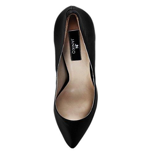 Janiko Damen High-Heels MARLINE black/silver XB1003