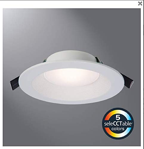 (Halo RL6069S1EWHDM 6-Inch All-Purpose LED Retrofit Module with SeleCCTable Switch - NO RECESSED HOUSING Required)
