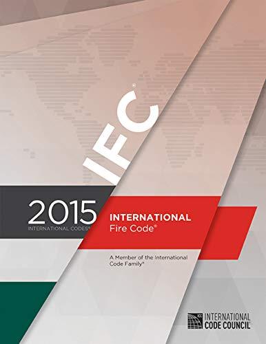 - 2015 International Fire Code