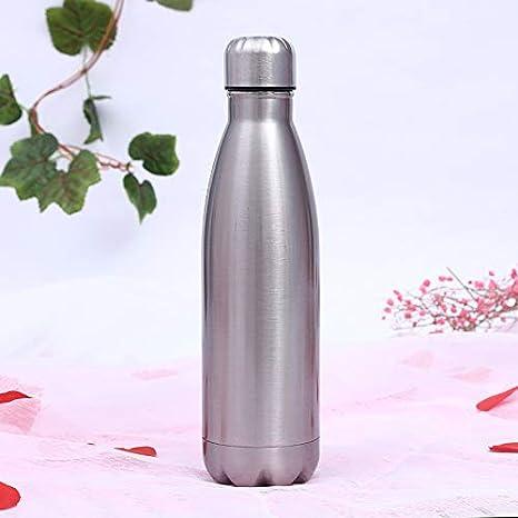 LYLEQ - Botella de acero inoxidable 304 para deportes al ...