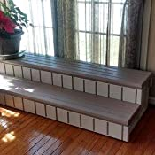 Amazon.com : Leisure Accents Deluxe Spa Step, 36 Inches
