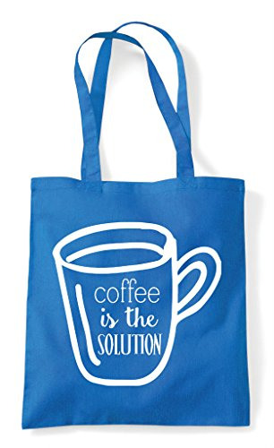 Bag The Sapphire Tote Is Solution Shopper Coffee I7xW5zqZn