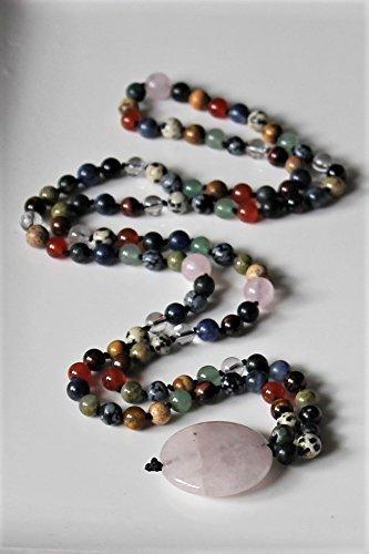 7 chakra mala, 108 Bead CHAKRA MALA, Yoga Jewelry, Meditation Beads, Prayer Beads, Yoga Mala