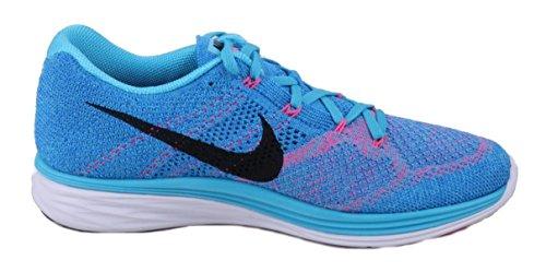 Running pht Bl Azul Blue Bleu Femme white Black Compétition Chaussures gamma Lunar3 Nike Flyknit De O8q7FfI