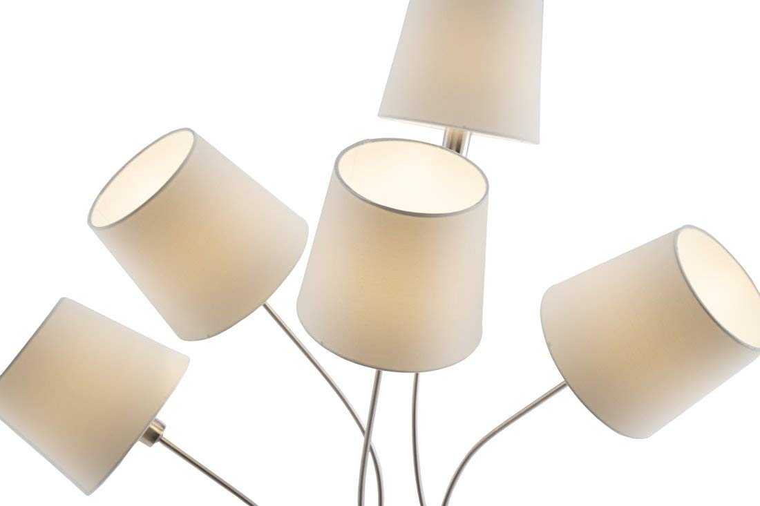 Nino Lima - Lámpara de pie (5 luces, lima 40570501: Amazon ...