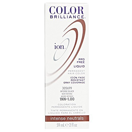 1NN Intense Black Permanent Liquid Hair Color