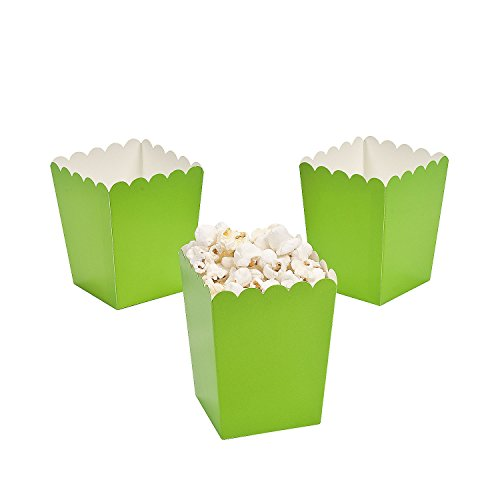 lime green popcorn - 3
