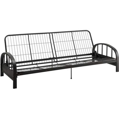 DHP Aiden Futon Frame, Black by Generic