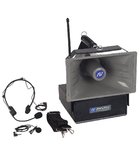 Amplivox SW610A 50-Watt Wireless Half Mile Hailer