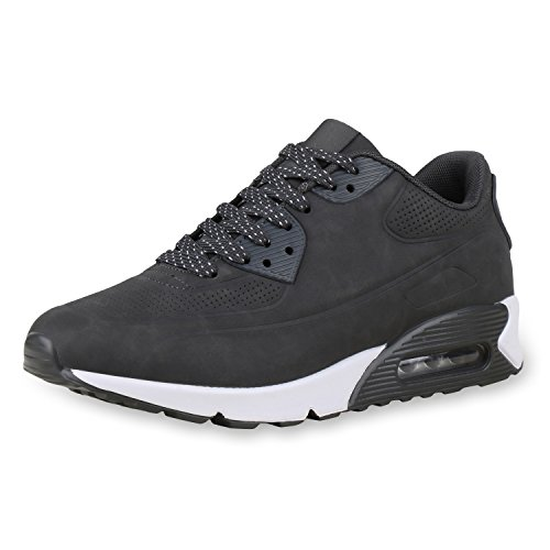 diansen® running Flyknit Boost inspirado entrenador Fitness gimnasio deportes zapatos (tamaño 6–11) Grau Grey Weiss
