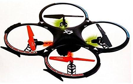 DRON CUADRICOPTERO RADIO CONTROL MANDO 6 EJES 2,4Ghz CON CAMARA ...