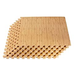 A perennial best-seller, the 3/8-inch (10mm) thickness of Forest Floor Printed Wood Grain Interlocking Foam Mats is a popular choice for low- to moderate-traffic areas and low-impact personal fitness activities. Whether you're looking for a c...