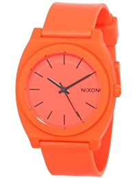 Nixon The Time Teller P A119-1156 Unisex Orange Dial and Band Watch