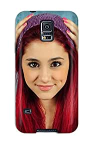 Hot Snap-on Ariana Grande Hard Cover Case/ Protective Case For Galaxy S5