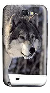 Samsung Note II Case Hunting Wolf 3D Custom Samsung Note 2 Case Cover