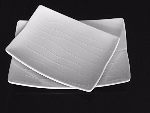 Lucky Star Rectangular Melamine Plates Sushi Sashimi Tonkatsu Tempura Salad BBQ Platter Dishes 8u0027 & Lucky Star Rectangular Melamine Plates Sushi Sashimi Tonkatsu ...