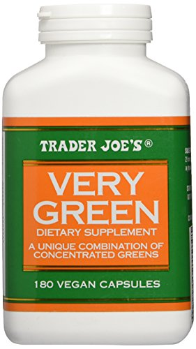 Trader Joes Very Green 180capsules