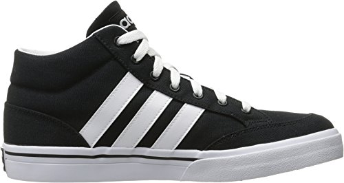 Adidas Neo Mens Gvp Mid Fashion Sneaker Noir / Blanc / Gomme 1