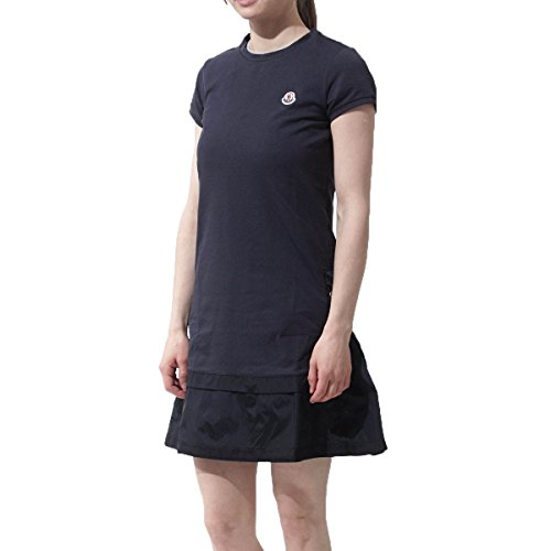Moncler Girls Short Sleeve Navy Blue Dress 14 by Moncler