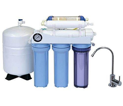 Koolermax K6-ALK 6-stage Alkaline Drinking water RO system 75GPD New complete