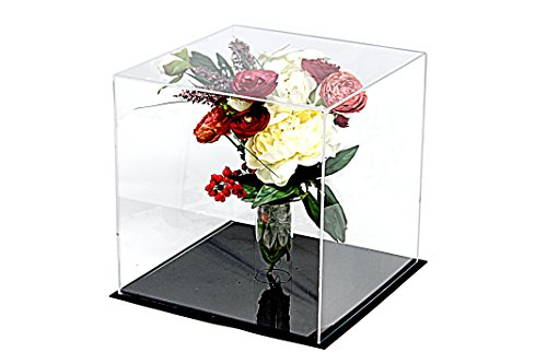 Deluxe Clear Acrylic Collectible Wedding Flower Bouquet Display Case (A031-TT)