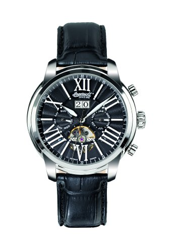 Ingersoll Men's IN1815BK Nashville Fine Automatic Timepiece Black Dial Watch